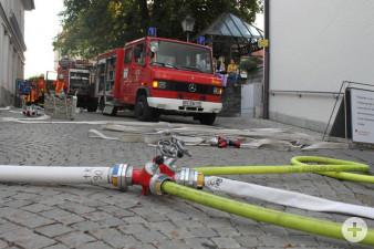 Übung Brandbekämpfung